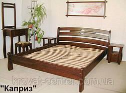 """Кровать двуспальная """"Каприз"""". Массив - сосна, ольха, береза, дуб., фото 2"""