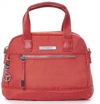 Яркая женская сумка из нейлона Hedgren AURA HAUR04/577-01, красный
