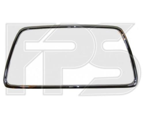 Рамка решетки в бампере Mitsubishi Lancer X (CY) 12-, (CX) Ralliart 08