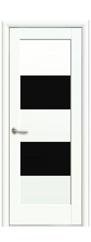 Межкомнатные двери Бьянка BLK белый мат