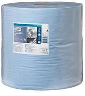 Протирочная бумага Tork 440 голубая большой рулон 1000 листов 130070