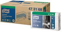 Нетканный материал Tork для интенсивной очистки в салфетках 85 листов белый 473168