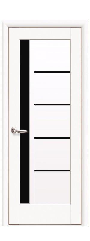 Межкомнатные двери Грета BLK белый мат