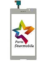 Сенсорный экран для мобильного телефона Sony C2305/S39h/Xperia C, белый