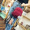 Модный вельветовый мини рюкзак, фото 5