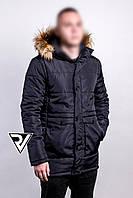 Куртка парка мужская зимняя Navy