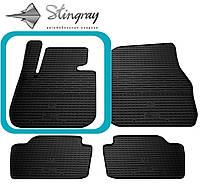 Bmw 3 (f30) 2012- водительский коврик черный в салон.