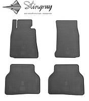 Bmw 5 (e39) 1995-2003 комплект из 4-х ковриков черный в салон.