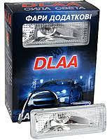 Фари додаткові  DLAA  222 W/H3-12V-55W/125*47mm