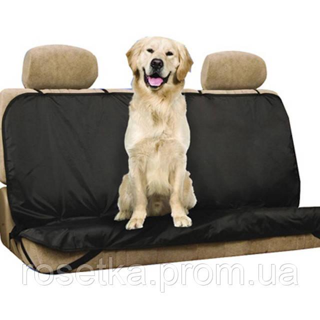 Автомобильная накидка на заднее сиденье ― Pet Seat Cover, чехол для животных, фото 1