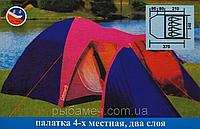 Палатка coleman 1036 ( 4 места ), фото 1