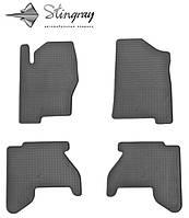 Nissan pathfinder r51 2005-2010 комплект из 4-х ковриков черный в салон.