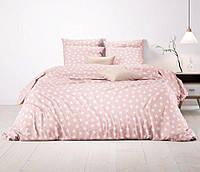 Постельное белье из ранфорса премиум Звезды Pink