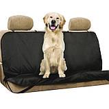 Підстилка для тварин на заднє сидіння в авто Pet Seat Cover, покрывало, накидка, чохол, фото 3