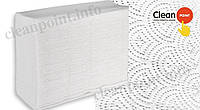 Рушники паперові целюл., Z-складання Lux Medium, 2-х шарові, 180 шт/пач Clean Point