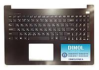 Оригинальная клавиатура для ноутбука Asus X502, X553, X555, S500, TP550 series, ru, black, передняя панель