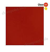 Серветки столові червоні 33*33 целюл. 2-х шарові, 200 шт/пач Clean Point