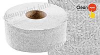 Туалетний папір Джамбо сірий 1-но шаровий макул., Jumbo Eco Small, 90м  Clean Point