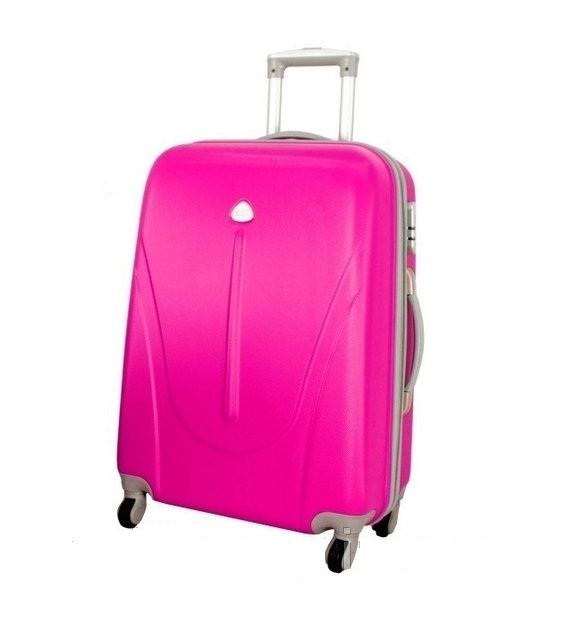 Чемодан дорожный сумка 882 XXL (большой) розовый