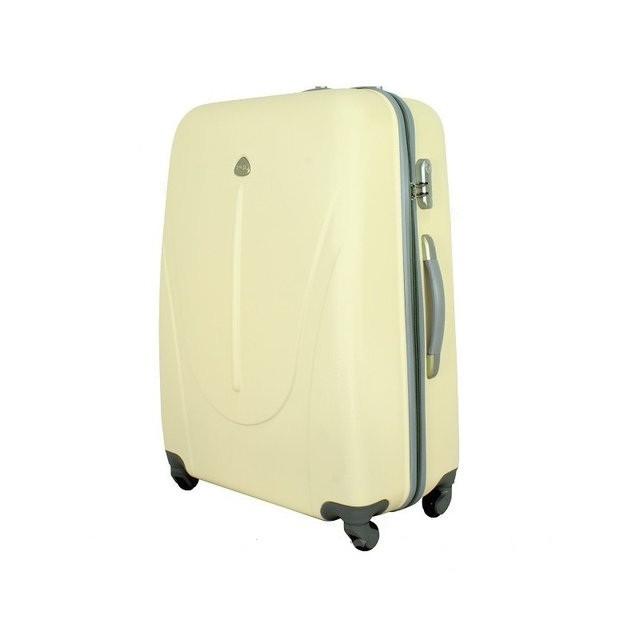 Чемодан дорожный сумка 882 XXL (большой) белый