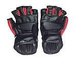 Перчатки для единоборств   Lev-Sport М1 (ММА) Красные XS, фото 4