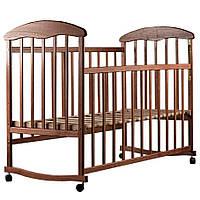 Детская кроватка Наталка Ясень Тонированный