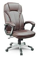Кресло офисное EG-222 коричневое В НАЛИЧИИ НАЛОЖКА