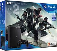 Игровая консоль Sony PlayStation 4 Slim (1 TB) Black + игра Destiny 2