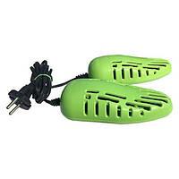 Электросушилка для обуви женской SHINE ЕСВ-12/220М Салатовая