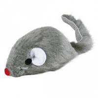 TRIXIE (Трикси) Мышь плюшевая звенящая серая 5см - игрушка для кошек