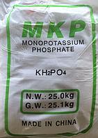 """Монофосфат калия """"Китай"""" (монокалий), 25кг, Фосфорно калийное удобрение"""