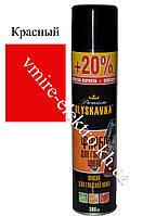 Краска для гладкой кожи Blyskavka Premium красный 300 мл