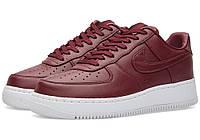 Женские кроссовки Nike Air Force Low Night Maroon Red, фото 1
