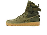Мужские кроссовки Nike Special Forces Air Force 1 Faded Olive Зима
