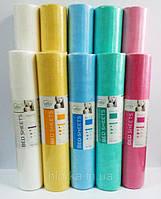 Одноразовые простыни в рулонах etto (СМС) 0,6м*100п.м. розовые