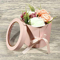 Подарочная коробка для цветов 1823854-12