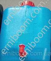 Канистра техническая 20л с краном синяя 5,9м Пласт бак