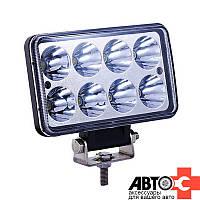 Фара LED Прямоугол 24W 9-32V 152*91*70mm Дальний (1шт)