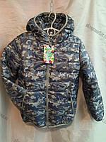 """Куртка подростковая на мальчика камуфляж (8-12 лет) """"Play"""" купить оптом со склада на 7 км LB-1037"""