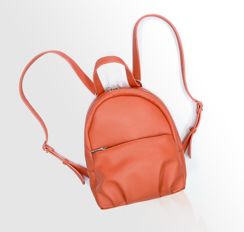 """Городской рюкзак для девушек из натуральной кожи """"Флотар"""" Италия"""