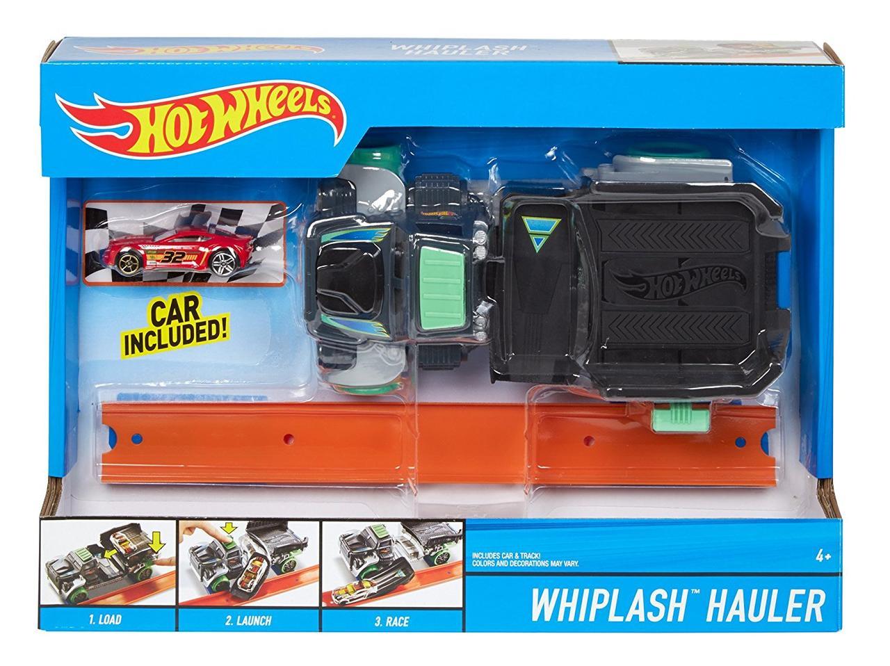 Грузовик Хот Вилс Транспорт специального назначения Hot Wheels WHIPLASH Hauler Vehicle