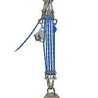 Спасательный подъёмно-эвакуационный полиспаст «Спасатель 4+4» (в комплекте) Крок