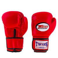 Перчатки боксерские Twins Flex (Aiba mod) 8 унций красные