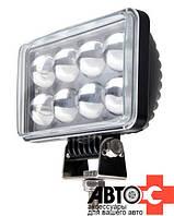 Фара LED Прямоугол 24W 9-32V 152*91*70mm Дальний линзы (1шт)