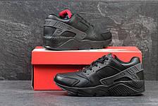 Мужские зимние кроссовки Nike Huarache черные 45,46р, фото 2