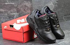 Мужские зимние кроссовки Nike Huarache черные 45,46р, фото 3