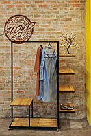 Гардеробная стойка WearCube, вешалка, раздевалка для дома, кафе, баров, ресторанов, торговых помещений, офисов