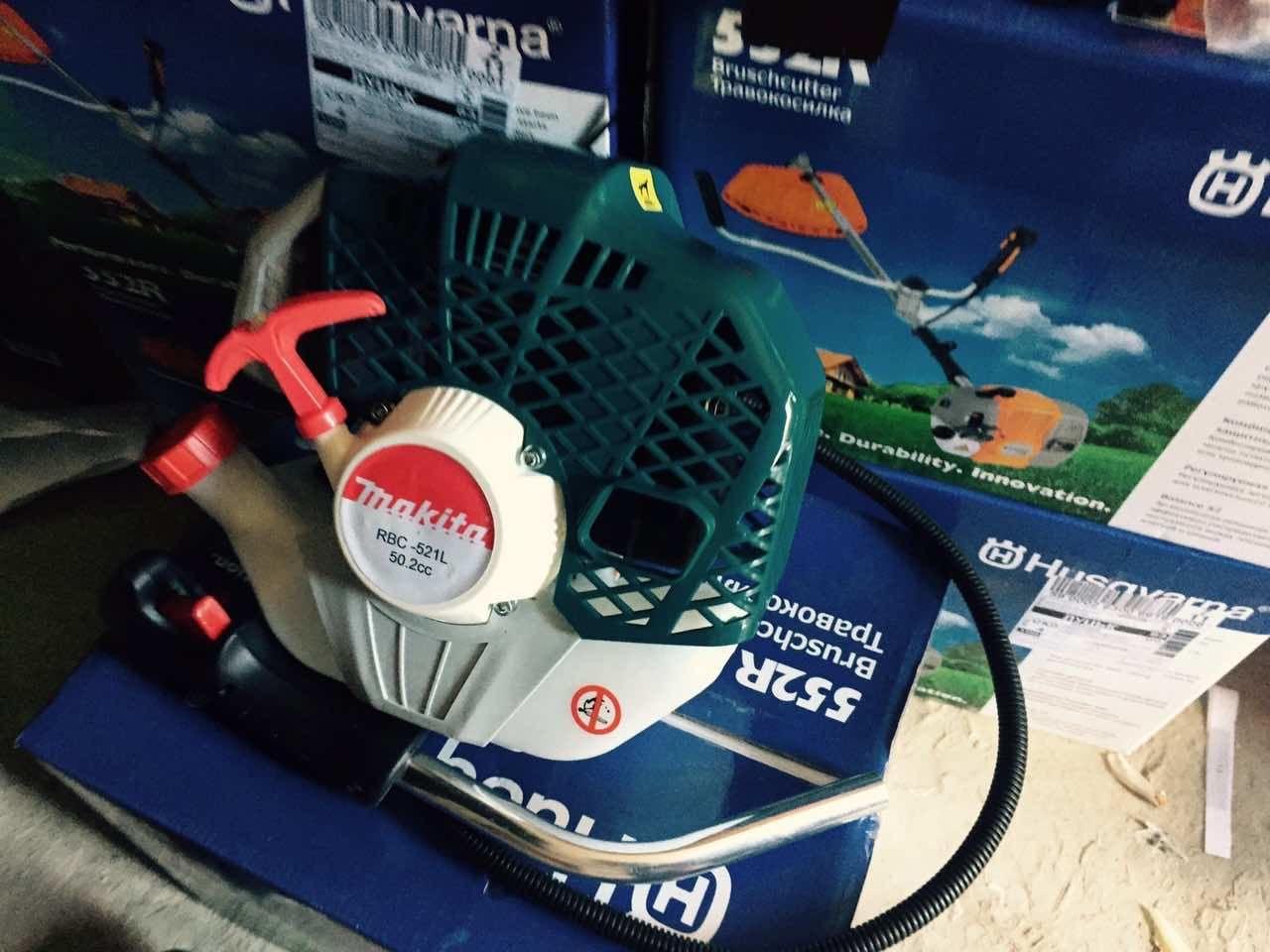 "Мотокоса (бензокосилка, кусторез) Makita RBC PRO 521 - Интернет магазин садовой техники"" Tehno-Haos "" техника для дома в Луцке"