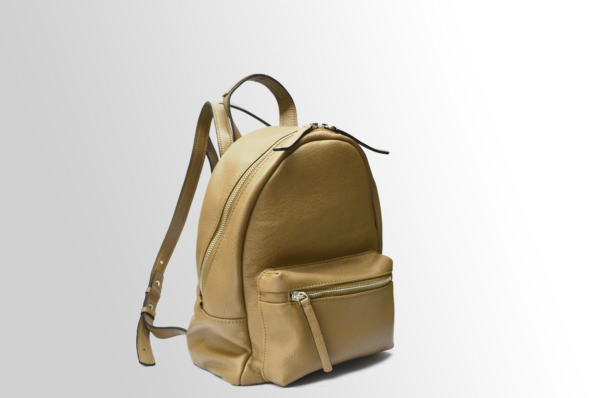Женский городской рюкзак из телячьей кожи
