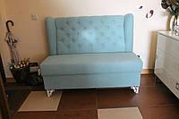 Мягкий диванчик в прихожую (Бирюзовый), фото 1